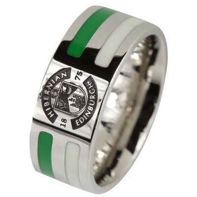 STRIPE CREST RING image