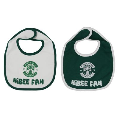 TWIN PACK BIBS GREEN/WHITE image
