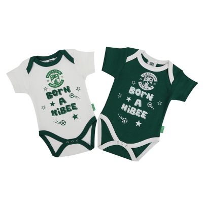 TWIN PACK BODY SUIT GRN/WHT image