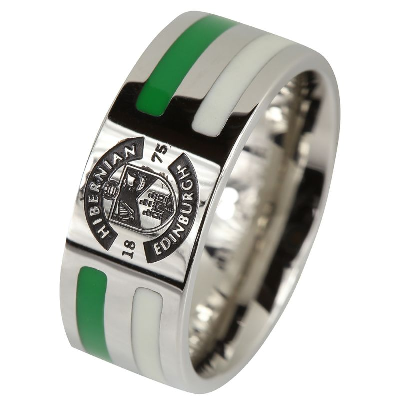 STRIPE CREST RING