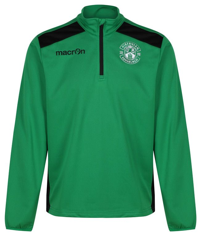 TARIM 1/4 ZIP SWEAT GREEN JNR